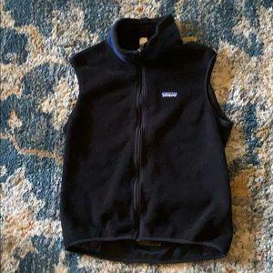Patagonia synchilla vest  🚴♀️ back Zipped m